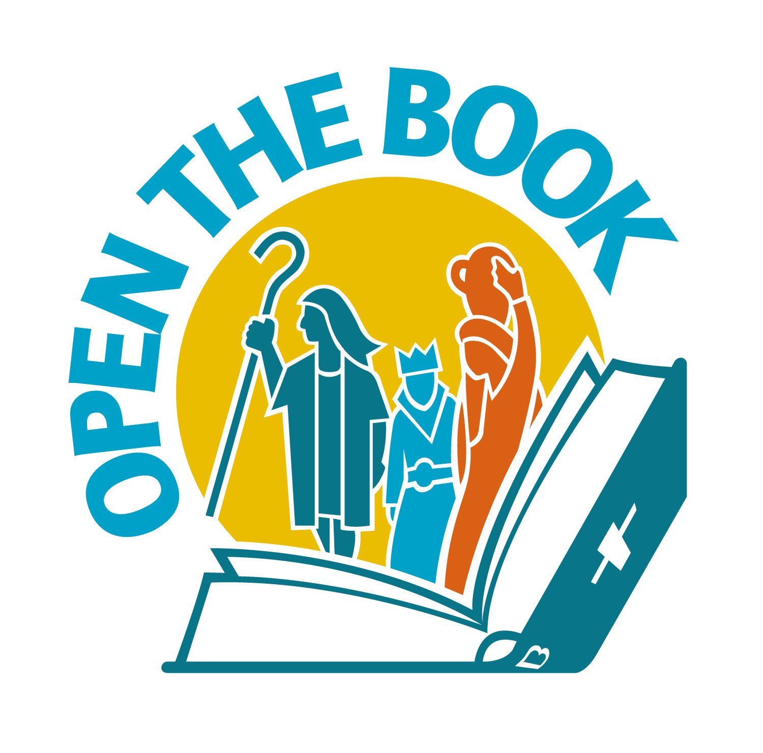 Image result for open the book logo